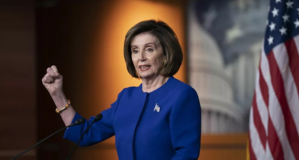 رئيسة مجلس النواب الأميركي نانسي بيلوسي (رويترز)