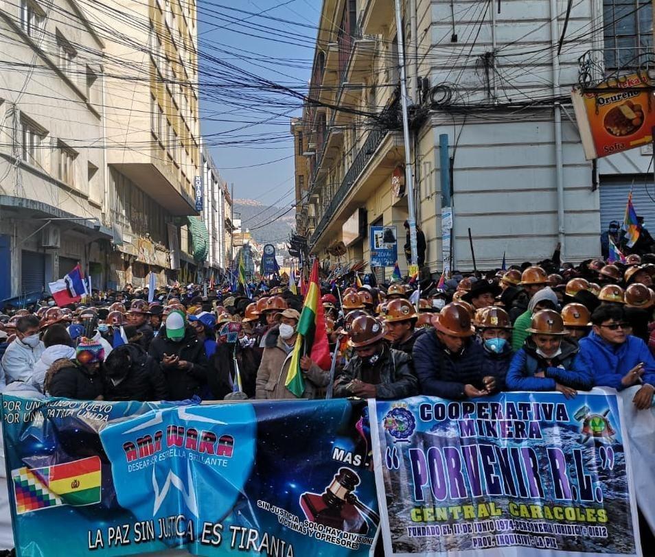 احتفالات شعبية في بوليفيا بمناسبة تنصيب الرئيس لوسي آرسي رسمياً رئيساً للبلاد