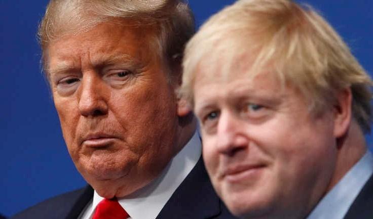 جونسون: أميركا أهم حليف لبريطانيا