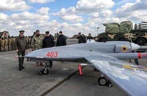 المحركات الأوكرانية في الطّريق إلى تركيا.