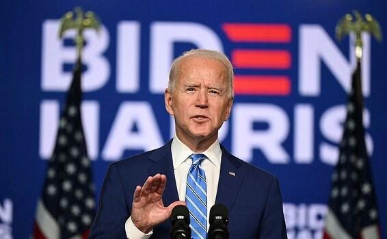 الرئيس الأميركي المنتخب جو بادين.
