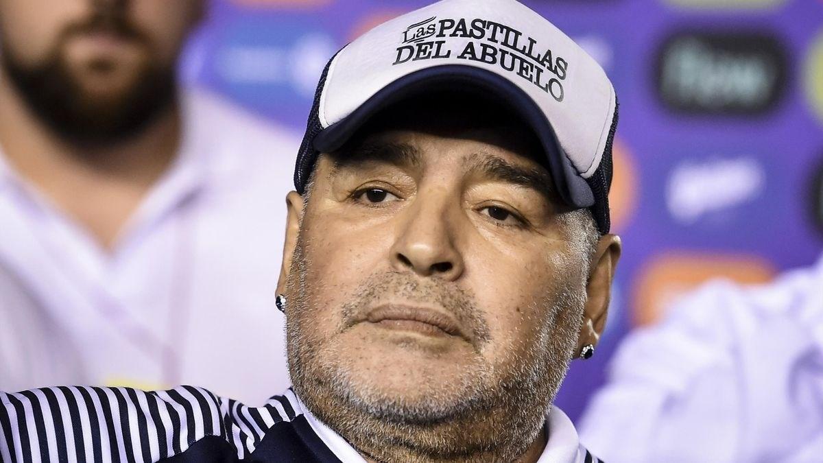 دييغو أرماندو مارادونا (أرشيف)