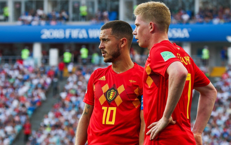 فازت بلجيكا بـ 6 مباريات من أصل ثماني خاضها في 2020