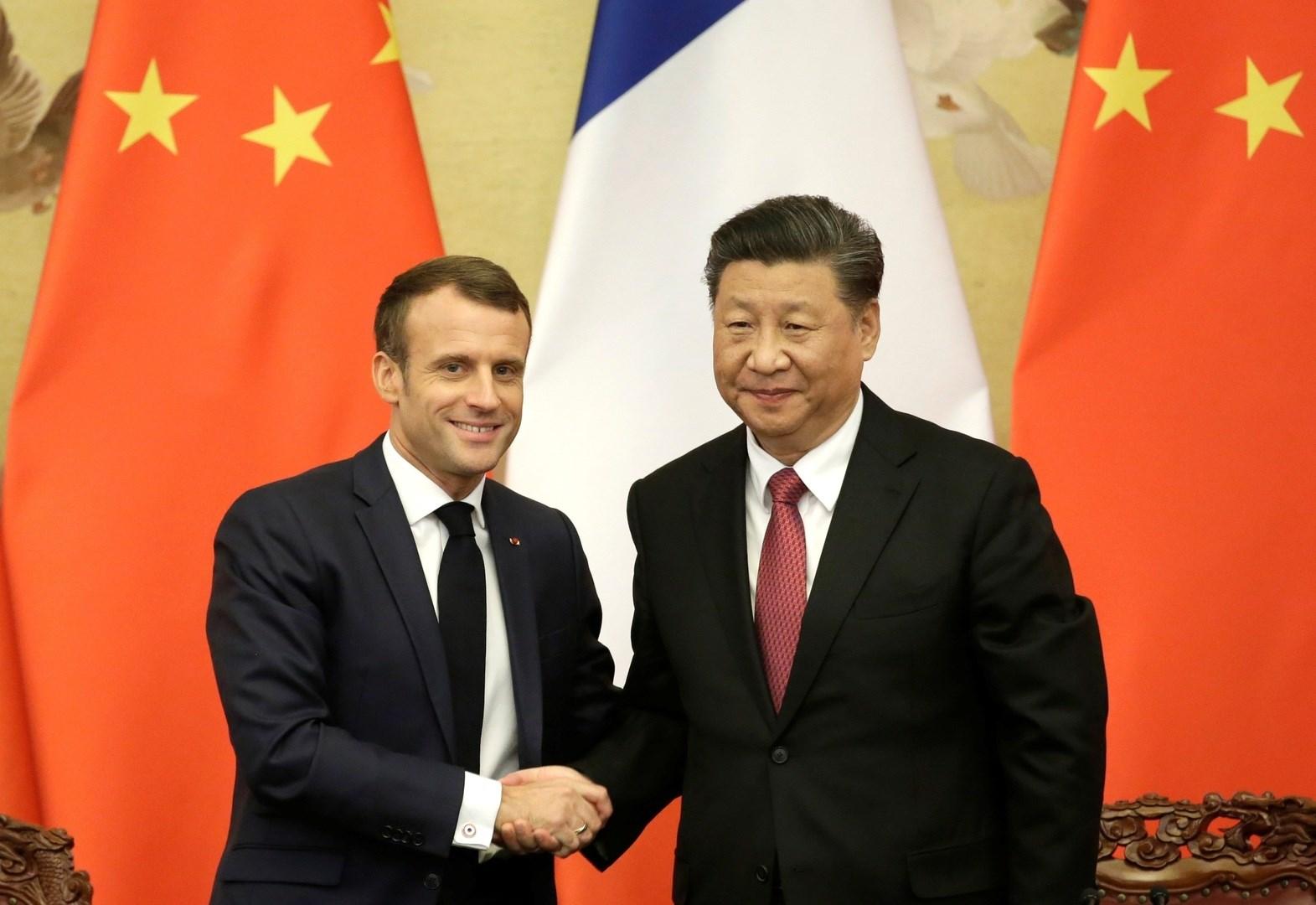 الصين وفرنسا تتفقان على دعم التعددية وحماية النظام الجولي ومكافحة كورونا