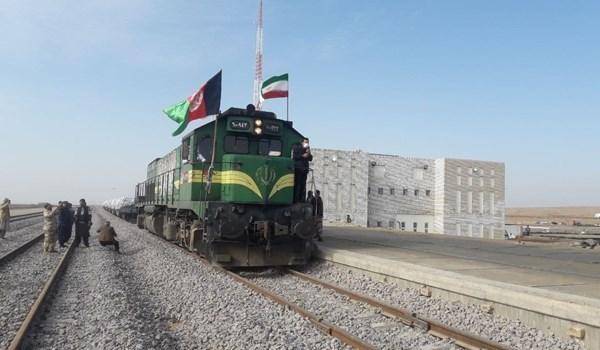 طريق السكة الحديدية الذي يربط بين مدينتي خواف الإيرانية وهرات الأفغانية