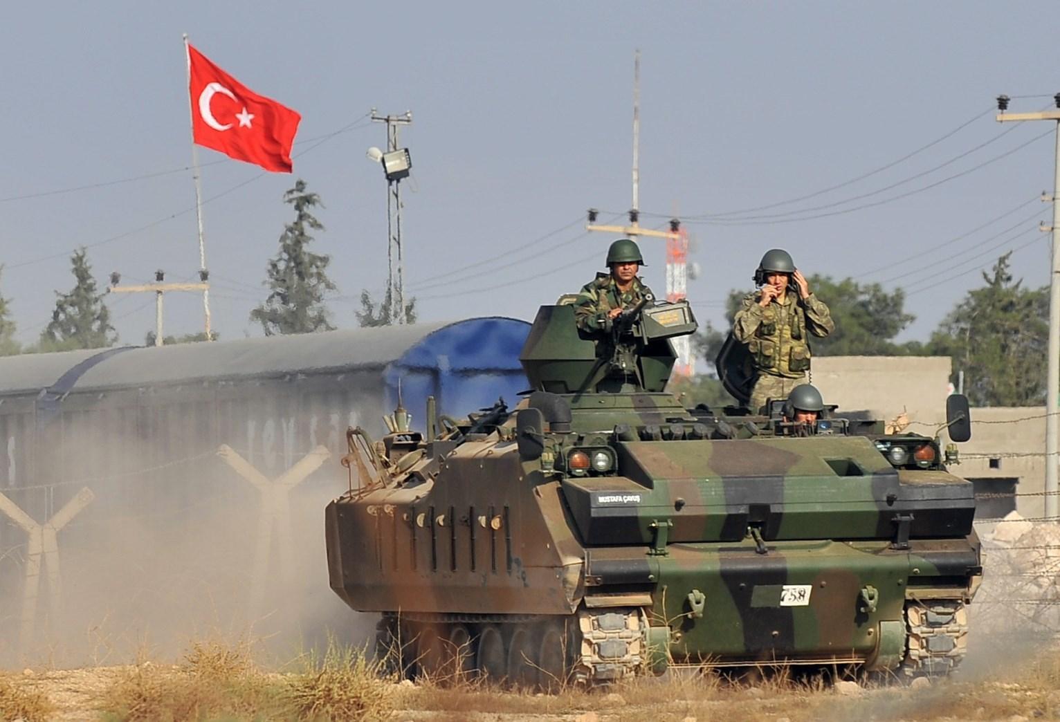 جنود أتراك في سوريا (صورة أرشيفية)