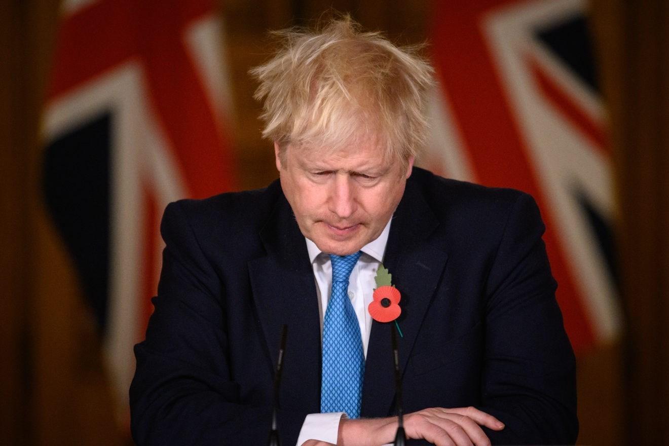 رئيس الوزراء البريطاني بوريس جونسون (صورة أرشيفية).