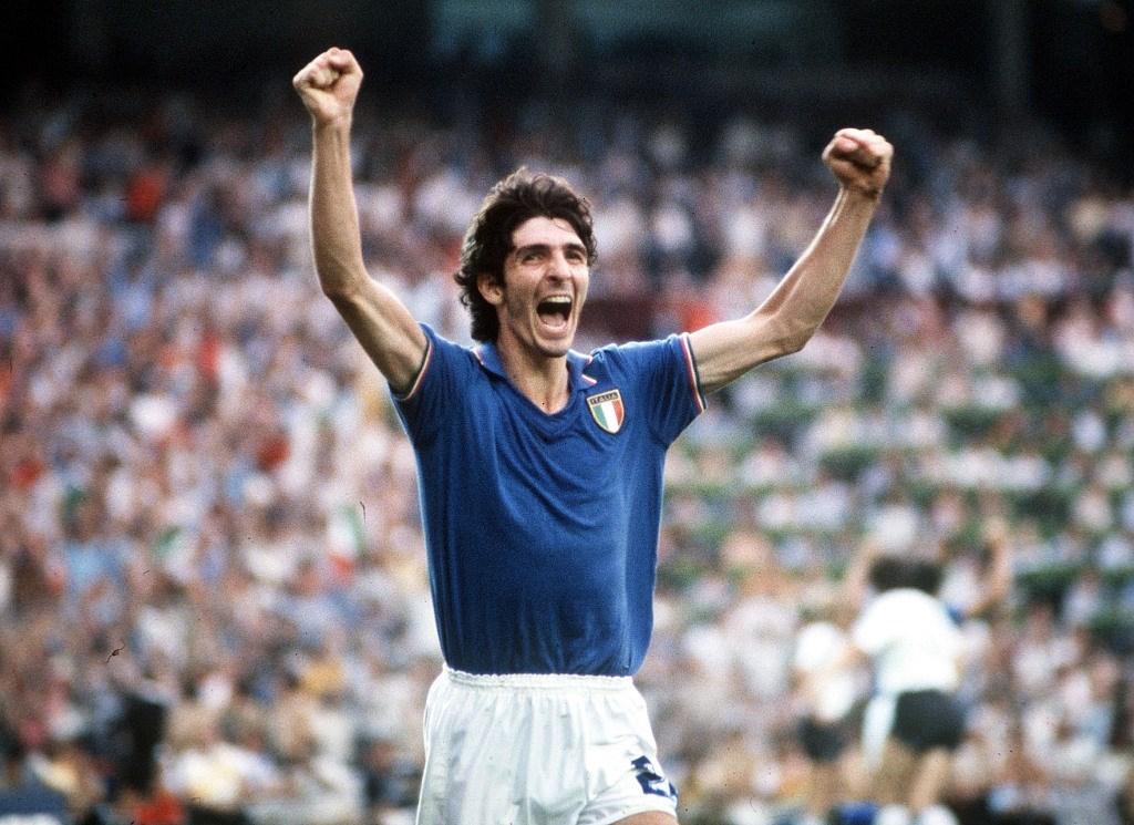 باولو روسي في كأس العالم 1982 (أرشيف)