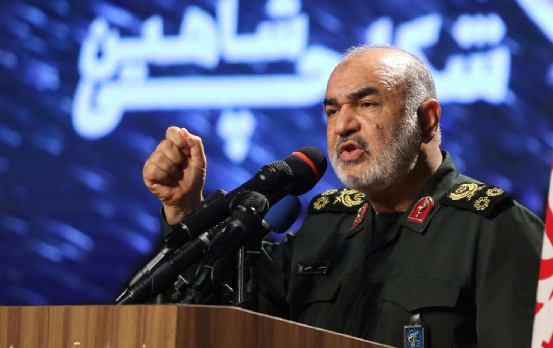 قائد حرس الثورة الإيراني اللواء حسين سلامي