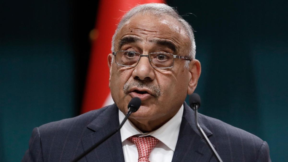 عبد المهدي: تمّ رفض الطب الأميركي بالسماح بإدخال قوات جديدة الى العراق أو باستخدام طائرات التحالف مناطق محظورة (AP)