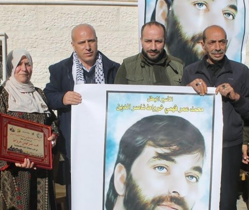 نادي الأسير: إدارة سجون الاحتلال تعزل الأسير عمر خرواط مجدداً