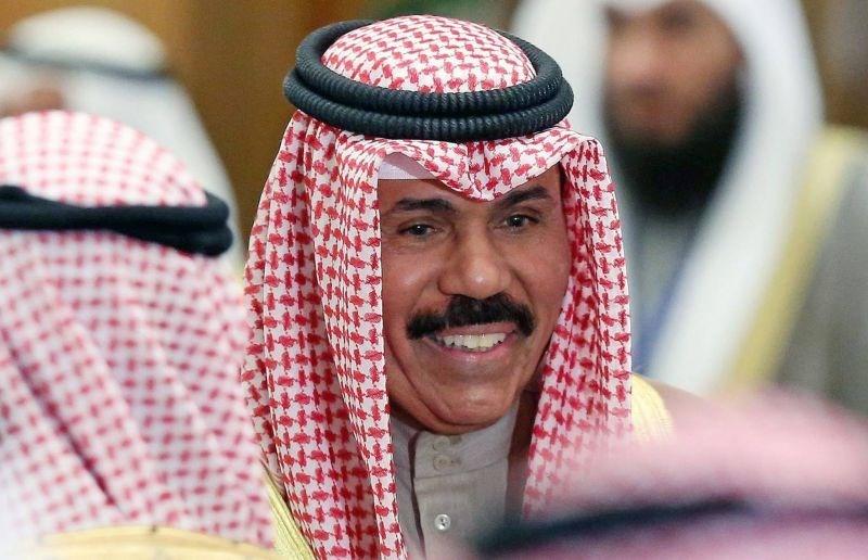 أمير الكويت نواف الأحمد الصباح الجديد الذي تولى زمام الحكم في أيلول/سبتمبر الماضي