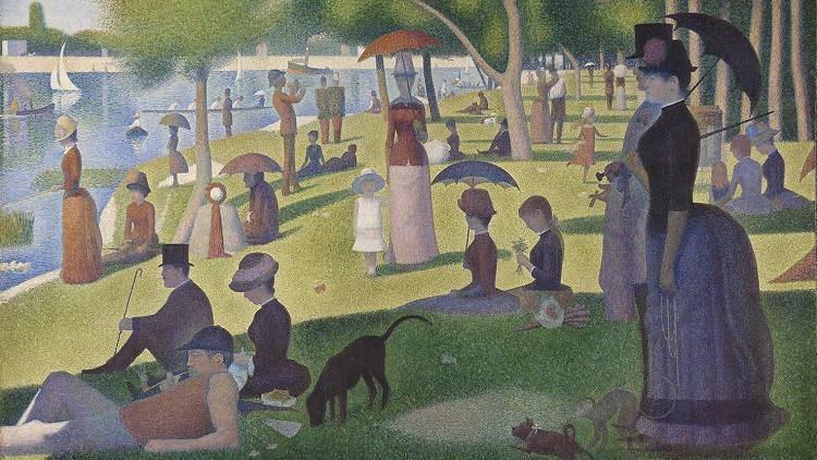 متقوقع في الجمدانة (Georges Seurat)