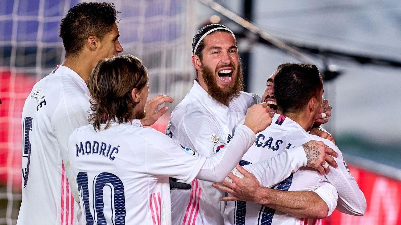 استعاد ريال مدريد عافيته