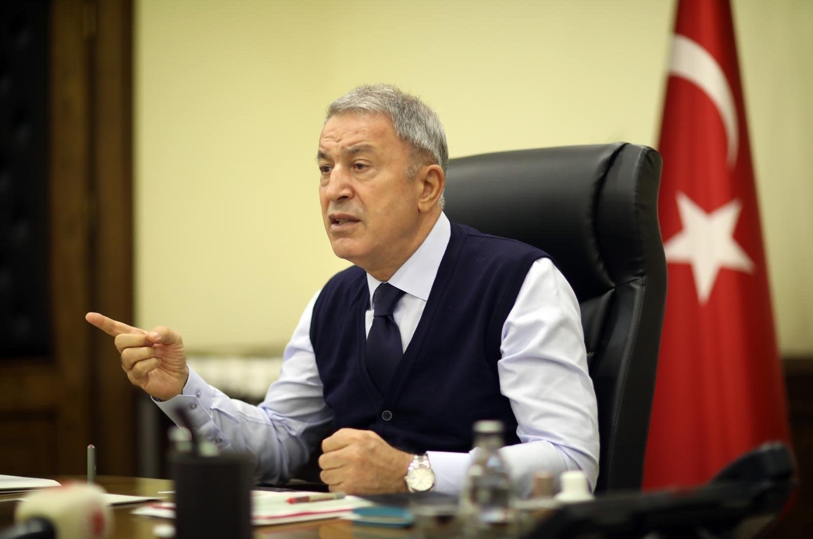 آكار: العقوبات ضد دولة عضو في الناتو ستقوّض الثقة بين الحلفاء (أ.ف.ب)