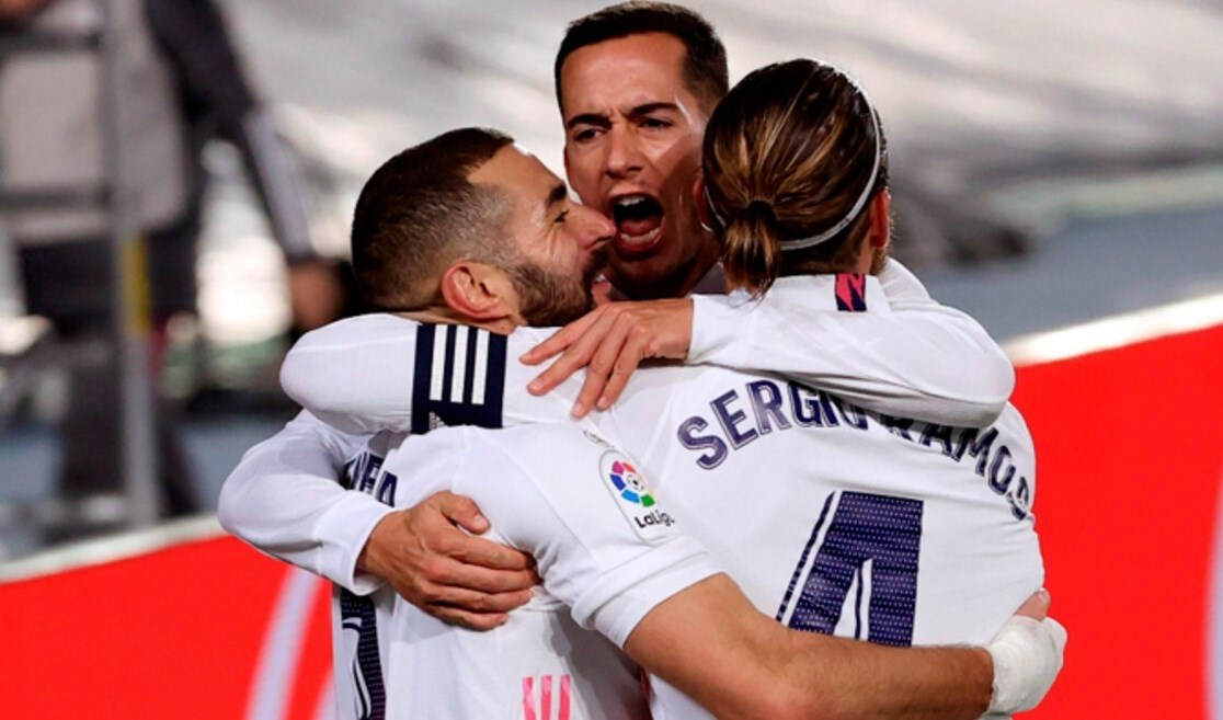 الفوز الثالث على التوالي لريال مدريد في