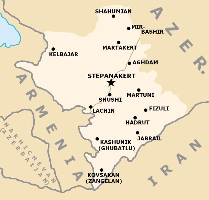 بدأ الصراع حول هذا الإقليم بالتشكل تدريجياً منذ أوائل عشرينيات القرن الماضي