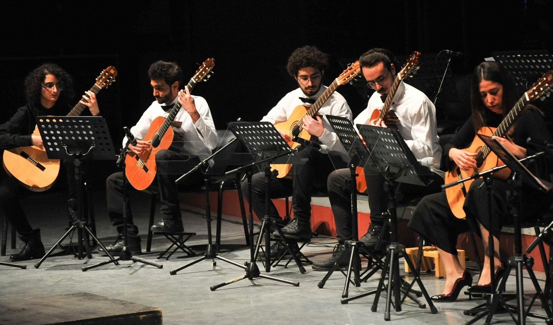 موسيقيو سوريا يحتفلون بذكرى تأسيس