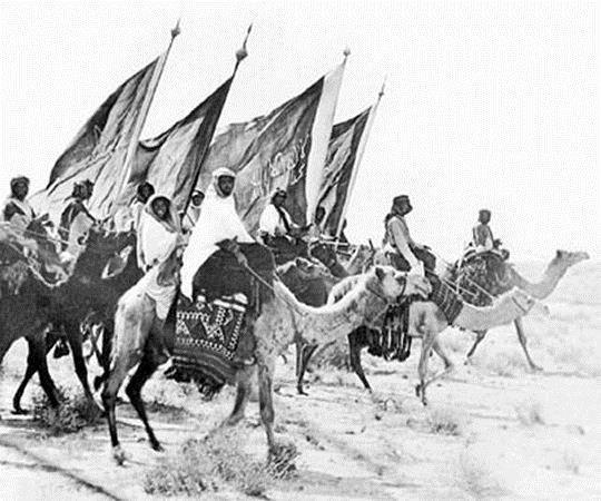 قامت قواتٌ تابعةٌ لابن سعود بارتكاب مذبحةٍ كبيرة بحق قافلة الحجاج اليمنيين سنة 1923