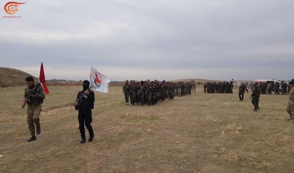 تخريج دورة دفاع وطني في الحسكة من أبناء العشائر