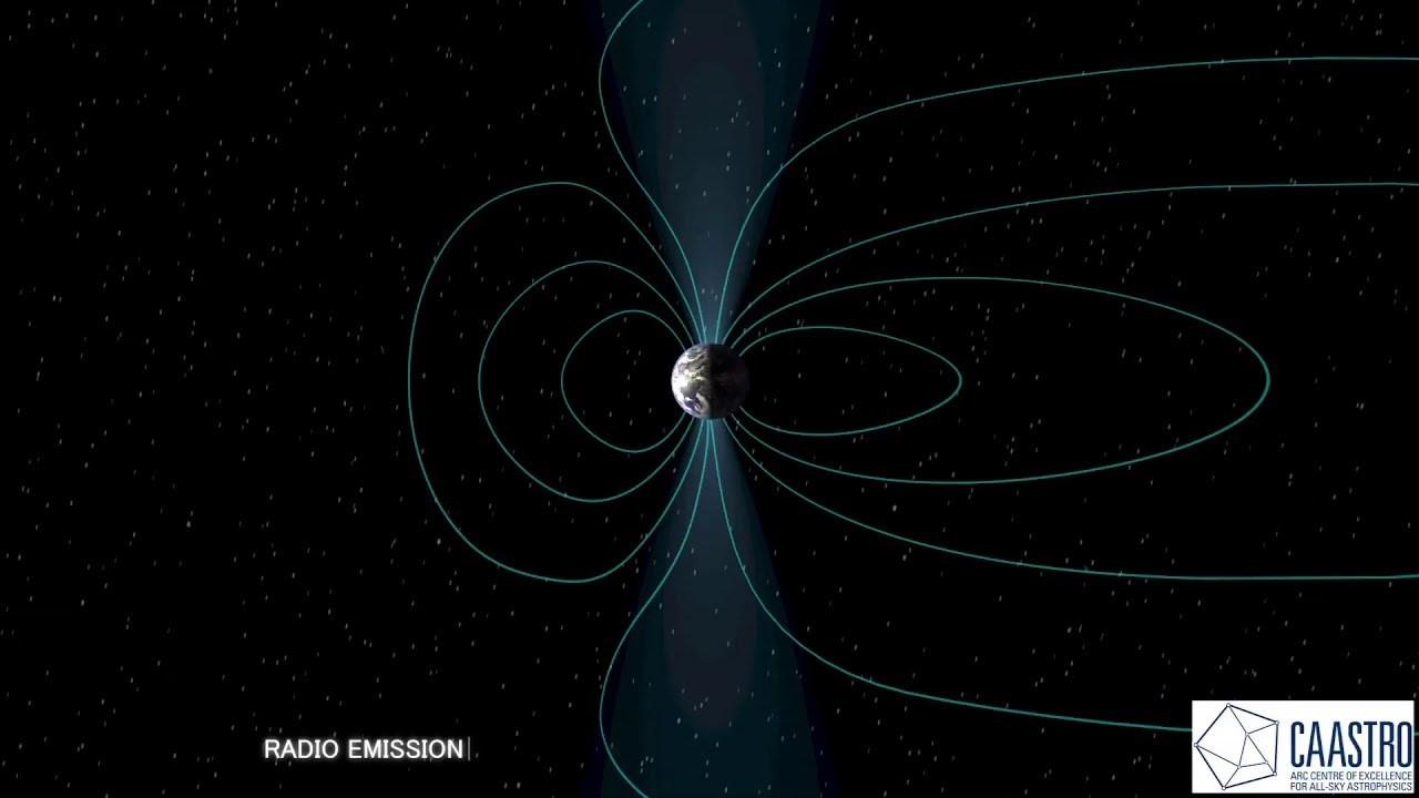 يمكن للأجسام الفلكية ذات الحقول المغناطيسية المتغيرة أن تنتج موجات راديو.