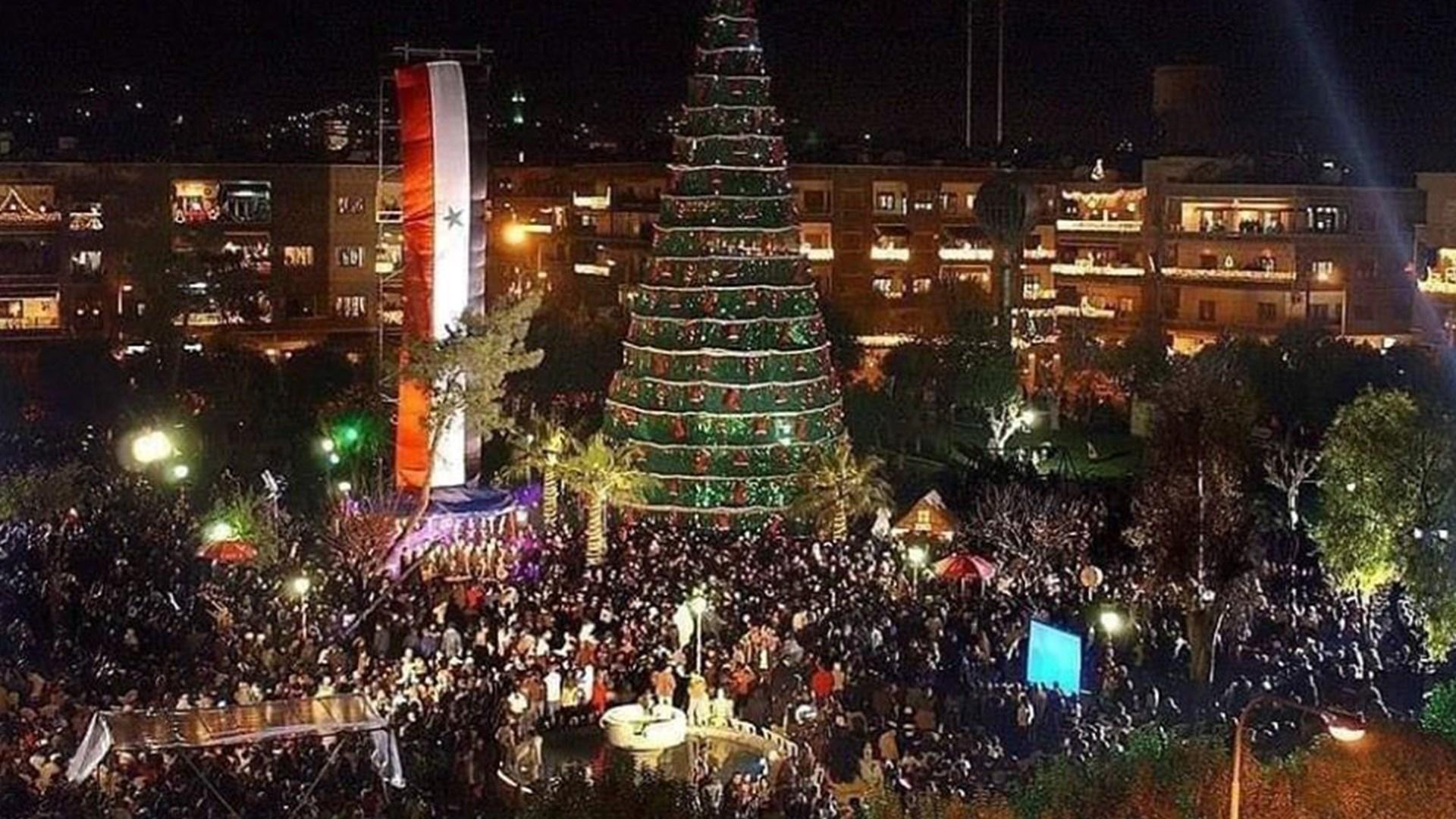 عيد الميلاد المسيحي العربي السوري