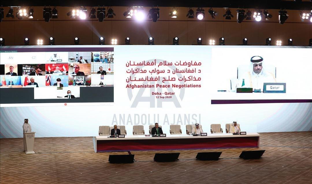 محادثات السلام الأفغانية تجتاز مرحلة
