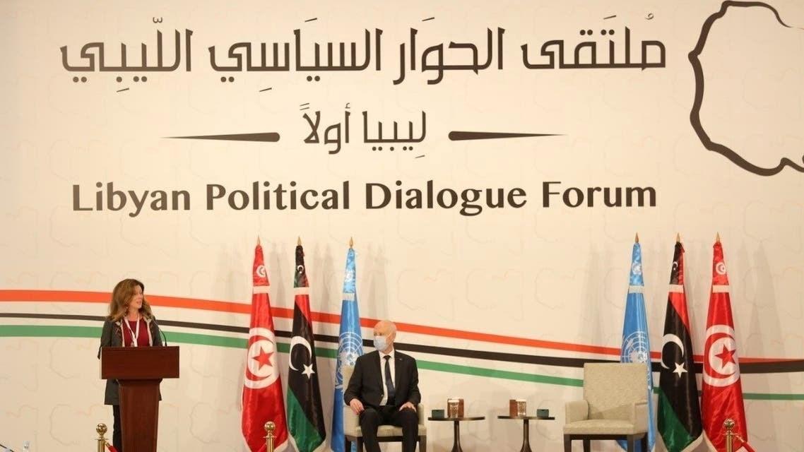 وليامز تحذر من خطر تواجد قواعد عسكرية أجنبية على الأراضي الليبية