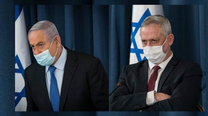 الخلافات تستعر بين نتنياهو وغانتس وتبادل للاتهامات