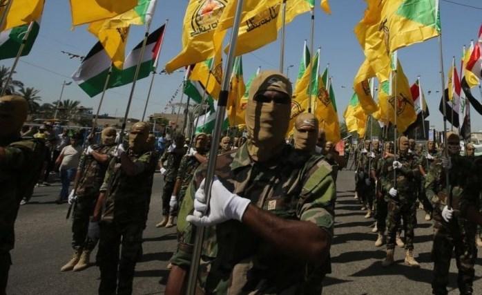 طالبت كتائب حزب الله العراق بإخلاء مظاهر النشاط العسكري الأميركي في المناطق السكنية الآمنة ببغداد