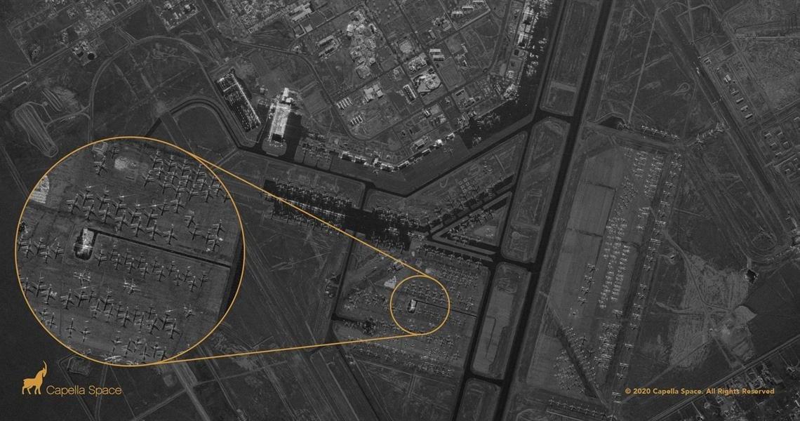 Capella Space يخرق الخصوصية بتصوير أدق التفاصيل عبر الغيوم وجدران الغرف
