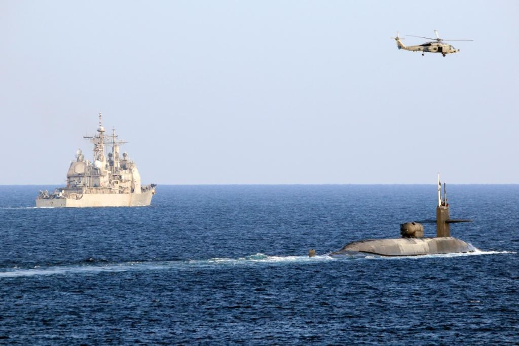 صورة نشرتها البحريّة الأميركيّة لحاملة الطائرات