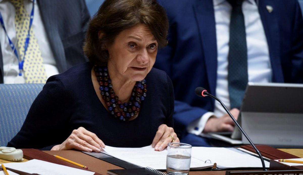 وكيلة الأمين العام للأمم المتحدة للشؤون السياسية، روزماري دي كارلو.