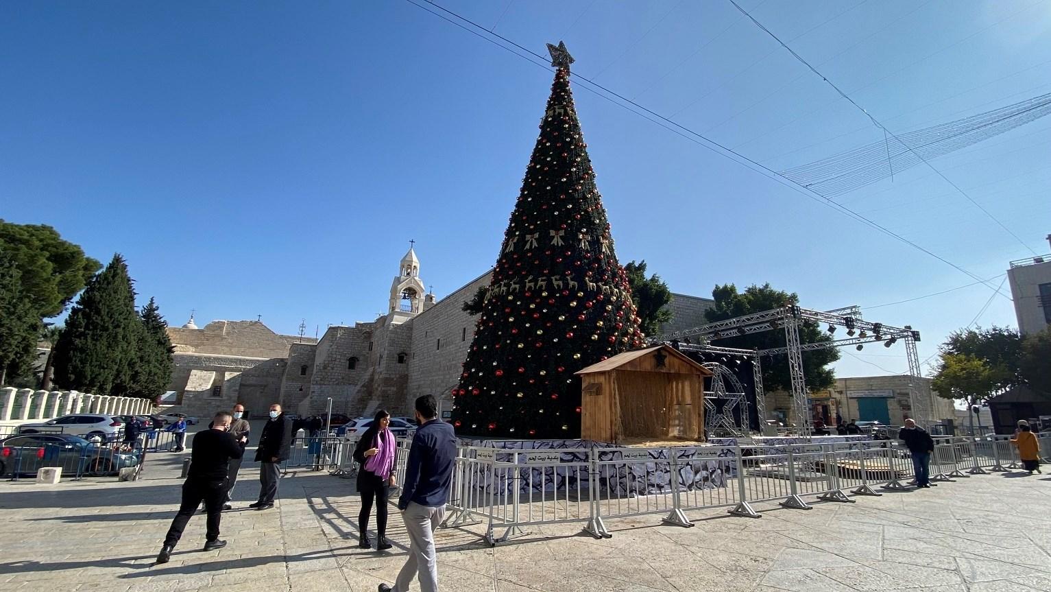 اجراءات كورونا تقييد بهجة عيد الميلاد في بيت لحم