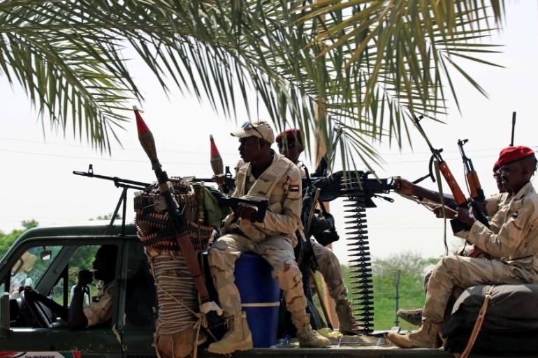 الجيش السوداني يسيطر على أراضي