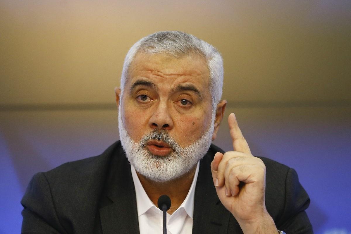 رئيس المكتب السياسي لحركة حماس إسماعيل هنية (صورة أرشيفية).