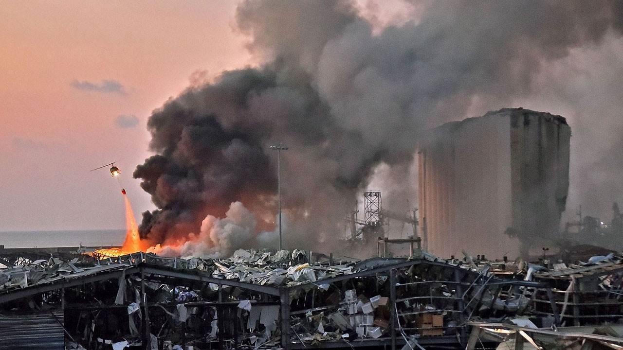 انفجار مرفأ بيروت الهائل تسبب بوفاة أكثر من مئتي شخص وإصابة أكثر من 6500 بجروح وأضرار مادية كبيرة