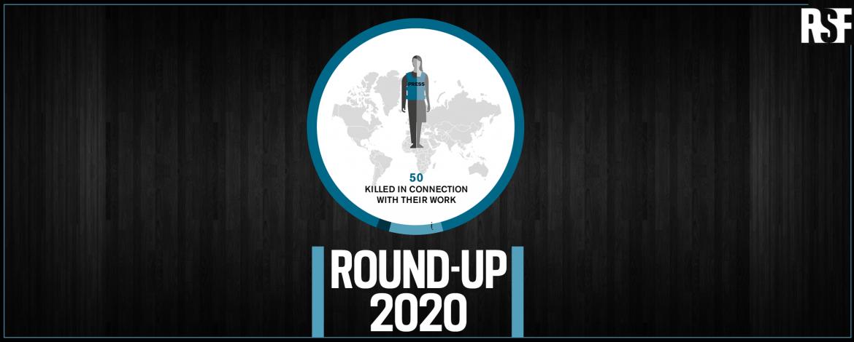 50 صحافياً قتلوا في العام 2020