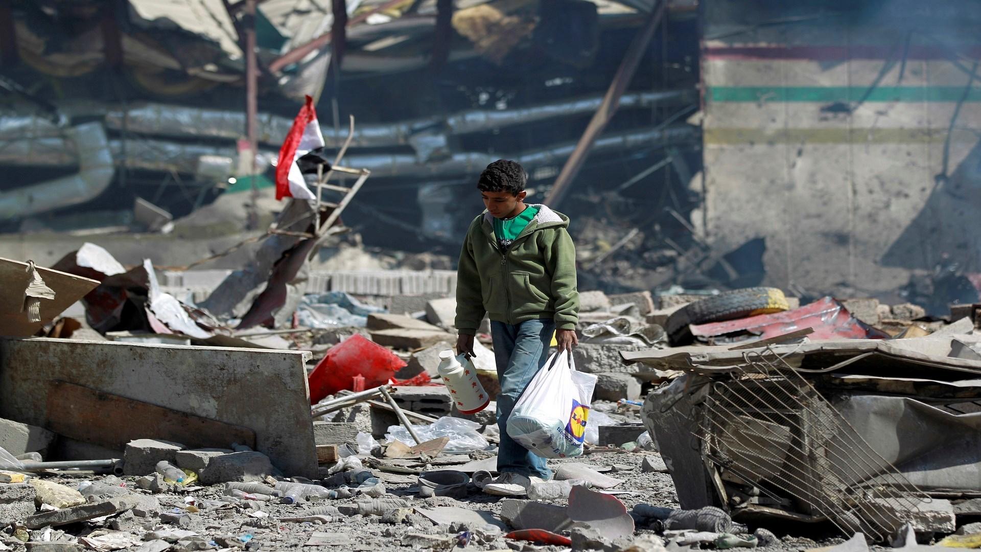 التقرير الأممي: بالنسبة للمدنيين في اليمن فببساطة لا يوجد مكان آمن للهروب من ويلات الحرب