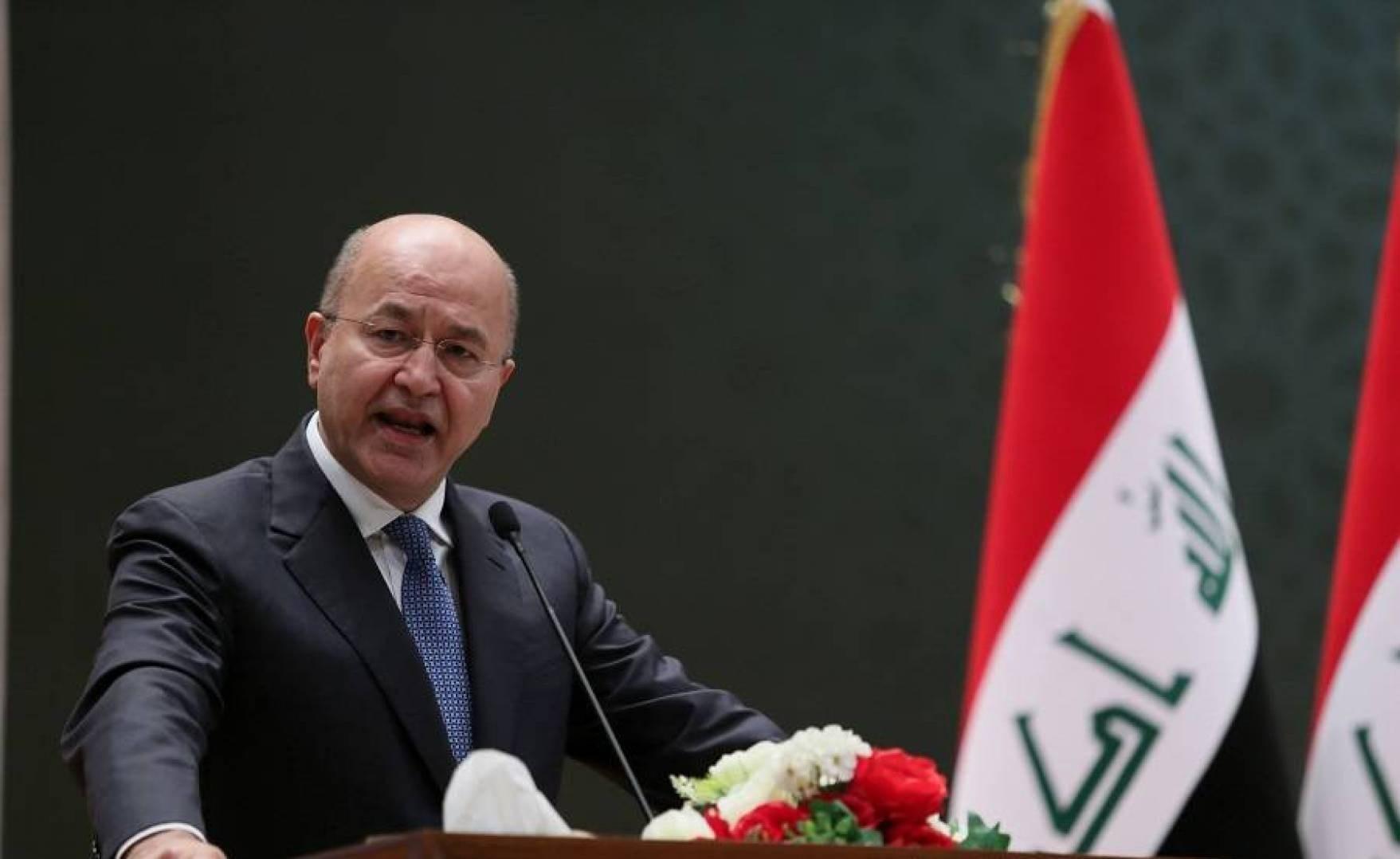صالح يدعو إلى عقد سياسي جديد وإبعاد العراق عن سياسة المحاور