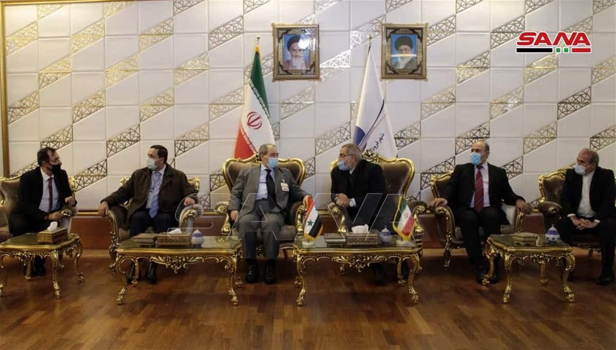 المقداد يصل إلى طهران في زيارة رسمية لإجراء محادثات تتركز على تعزيز العلاقات الثنائية