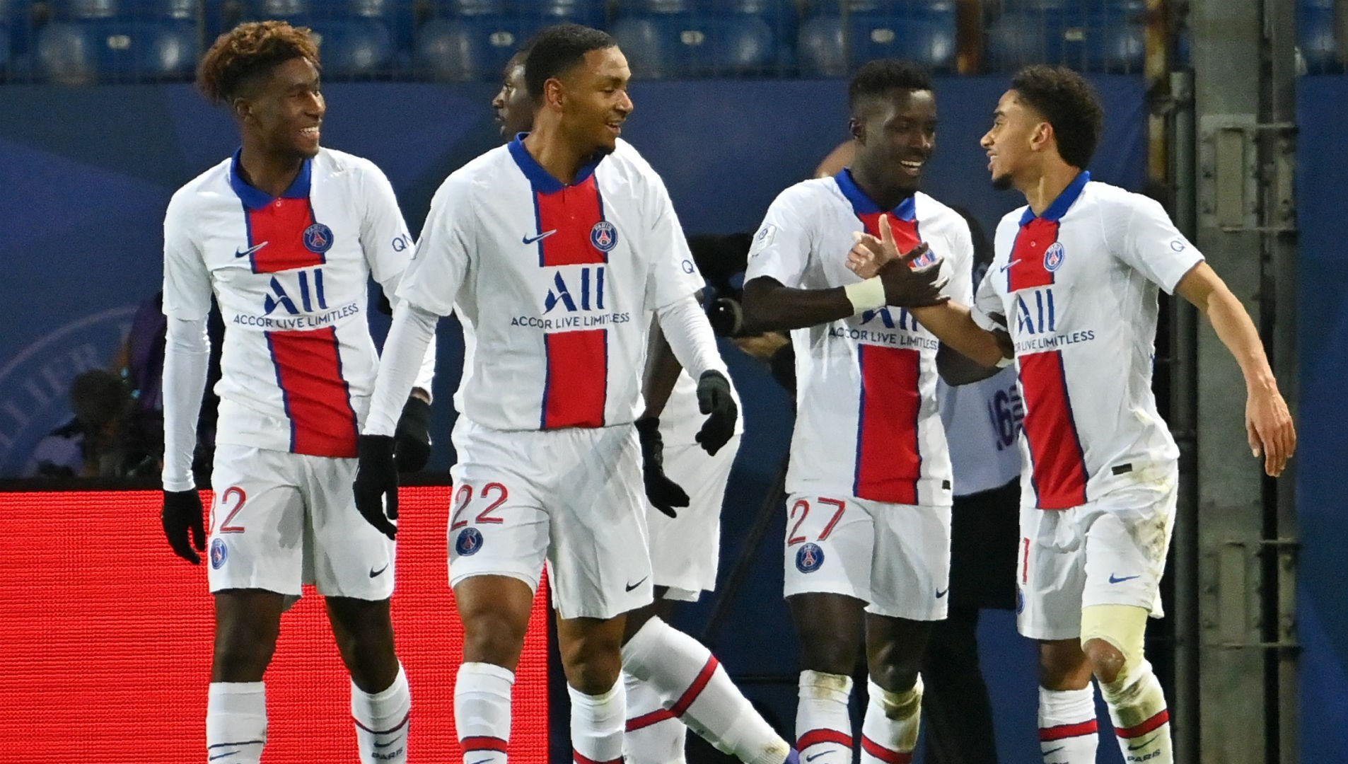 فاز باريس سان جيرمان على مونبيليه 3-1