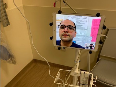 أحدث الحلول للتواصل مع المريض هو إقامة محطات
