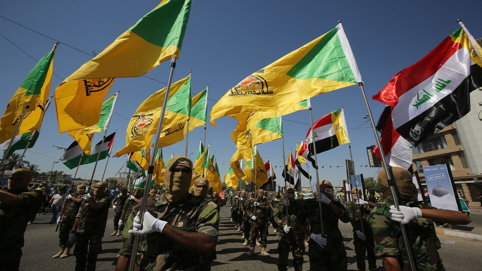 كتائب حزب الله تعلن موقفها إزاء دعوة الصدر لـ