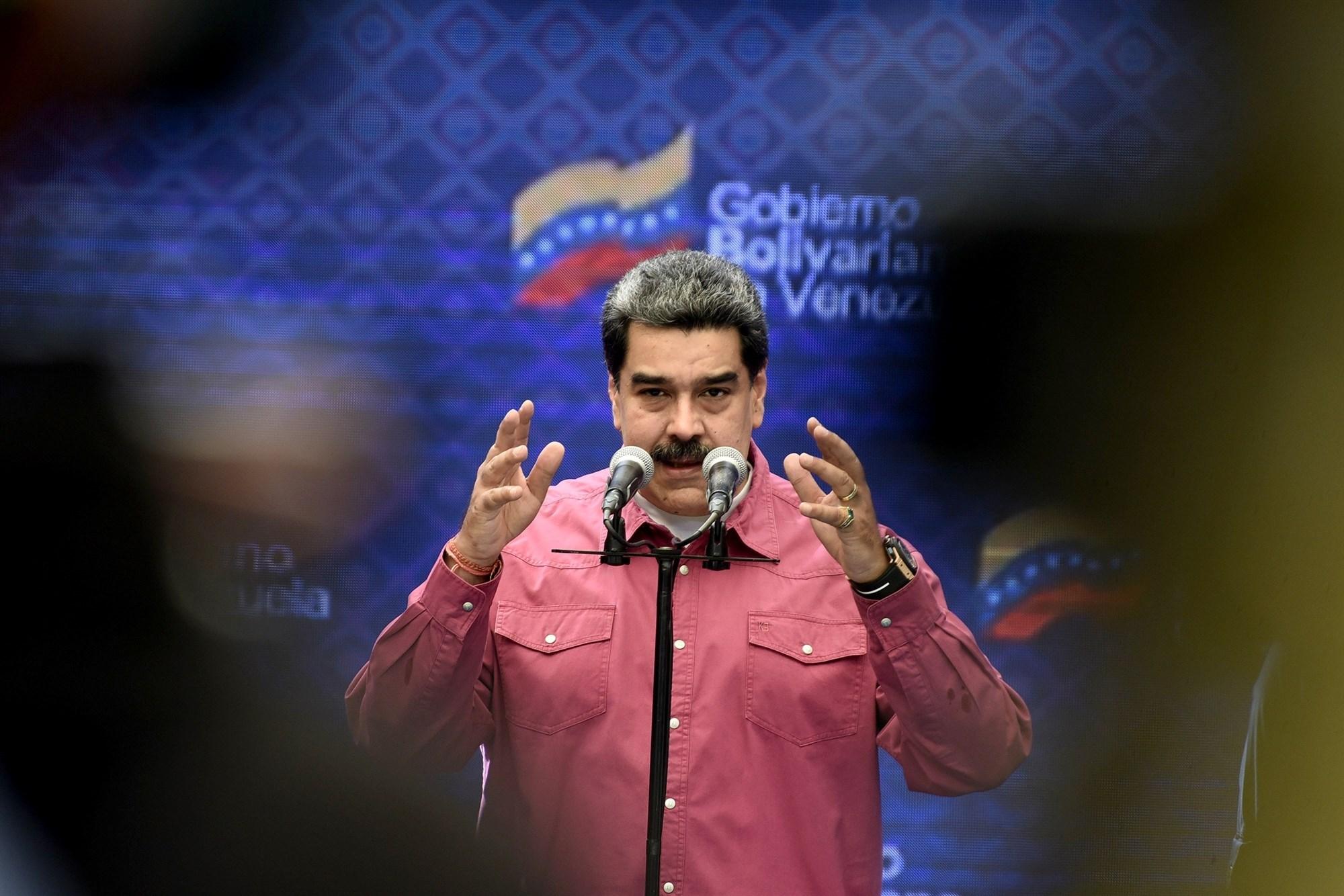 مادورو: انقسام المعارضة أهم أسباب فوز الاتحاد الإشتراكي في فنزويلا