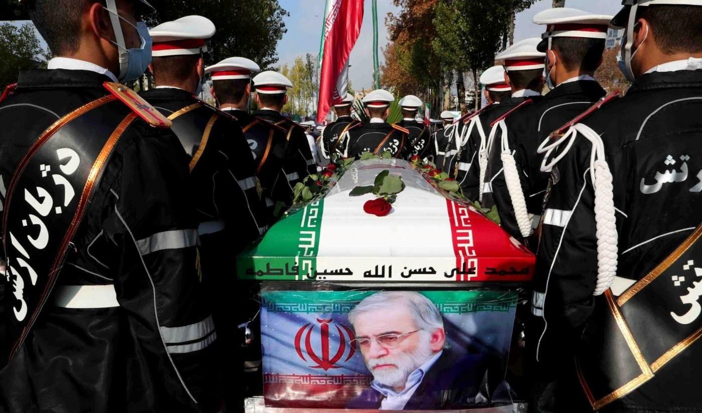 تشييع العالم الإيراني الدكتور محسن فخري زادة.