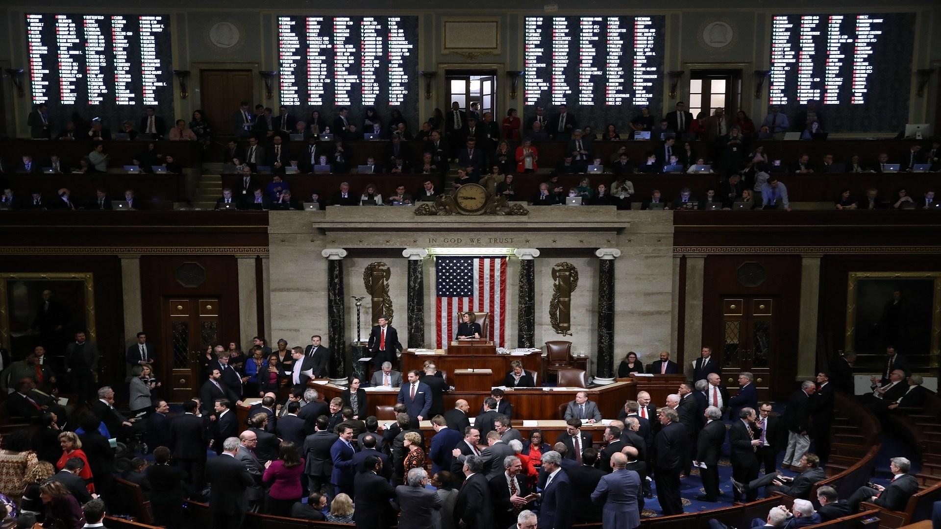 الكونغرس يصادق على ميزانية الدفاع بالرغم من معارضة ترامب