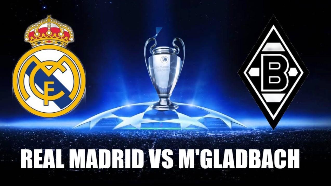 يستضيف ريال مدريد بوروسيا مونشنغلادباخ