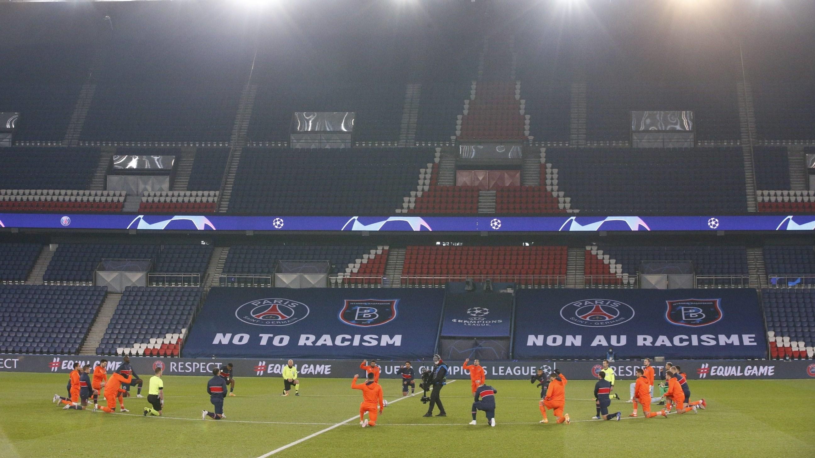 باريس سان جيرمان يكتسح باشاك شهير بعد استكمال المباراة!