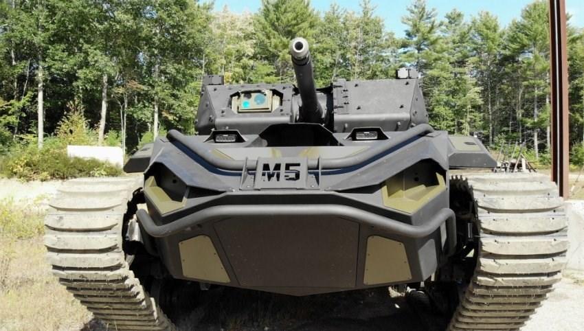 يعتزم الجيش الأميركي بحلول نهاية العام الجاري اختبار 4 نماذج جديدة من الروبوت القتالي